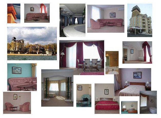 complexe hotelier 5 etoiles lac smolino Tcheliabinsk