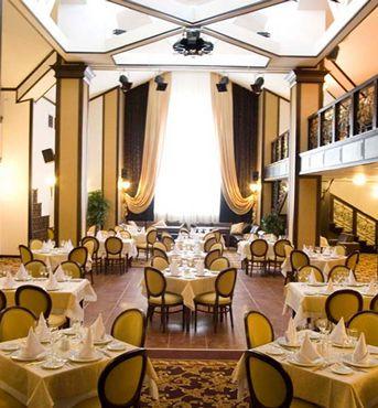 Vue 2 du Restaurant de L'Hôtel Smolino