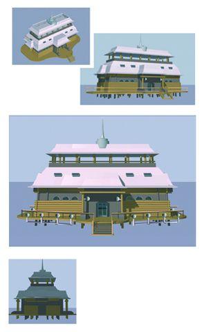 Complexe Hôtelier pour la Mongolie